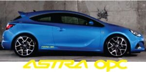 Opel Astra Opc Sticker Side Decal Vauxhall Astra Decal 2x Graphics