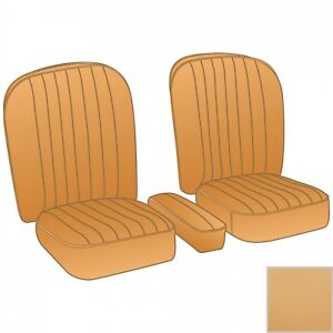 New Honey Tan Vinyl Seat Upholstery Set Material For Arm Rest Mga 1955 1962