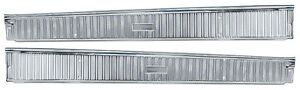 New 1963 1964 Ford Galaxie Door Step Plates Set