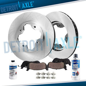 1990 1993 1994 1995 1996 1997 Honda Accord Front Brakes Rotors Ceramic Pads