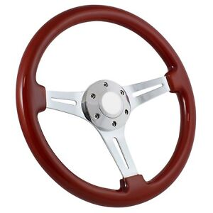 84up Club Car Golf Wood Steering Wheel Column Cover