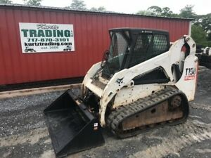 2007 Bobcat T190 Tracked Skid Steer Loader W Cab Coming In Soon