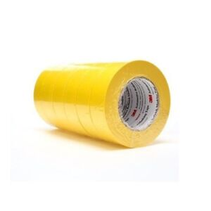 6 Rolls 3m Yellow 6654 1 1 2 Masking Tape 1 Sleeve 1 5 Inch 06654 Automotive