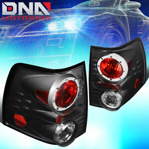 For 2002 2005 Ford Explorer Black Housing Altezza Style Tail Light Brake Lamps