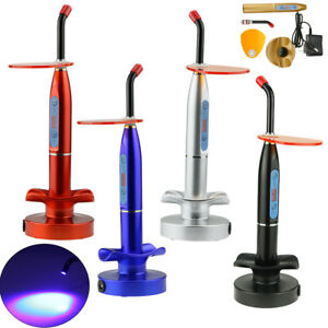 Lots New Dental 10w Wireless Cordless Led Curing Light Lamp 2000mw Us Ship