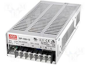 New Meanwell Sp 150 12 pack Of 4 Power Supplies 12v 12 5a 150 Watts