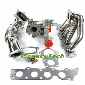 For Mazdaspeed 3 6 2 3l K0422 882 Turbo exhaust Manifold Headers 3 Down Pipe