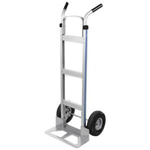 500lb Sack Truck Industrial Hand Trolley Wheeled Barrow Tyre Puncture Proof Cart