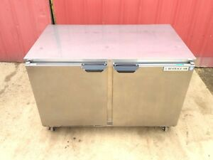 Beverage Air Ucf48a 23 Undercounter Freezer 2 Solid Doors 48