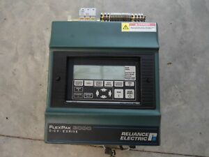 Reliance Flexpak 3000 Dc Drive 15hp 460v 15fr7731