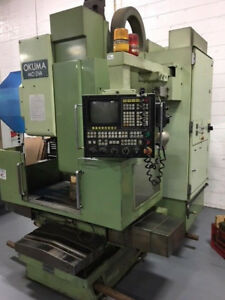 Okuma Mc 3va Cnc Vertical Machining Center