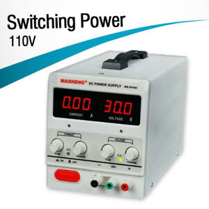 Ms 305d 0 30v 0 5a 150w Adjustable Lab Dc Bench Switching Power Supply Supplies