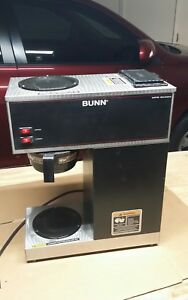 for Parts Or Repair bunn Vpr 2 Warmer Pour over Coffee Maker Model 33200 0001