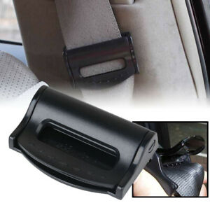 Car Seat Stopper Belt Buckle Strap Adjuster Clips Clamps Safe Comfort 2pcs