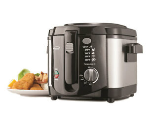 Brentwood Df 720 1200w Stainless Steel 8 cup Deep Fryer