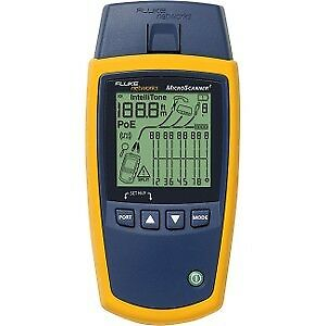 Fluke Networks Ms2 100 Microscanner Cable Verifier For Cable Testing