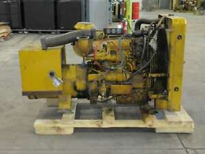 50kw Caterpillar D320 Diesel Standby Generator For Repair Or Parts
