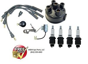 Complete Ignition Tune Up Kit Allis Chalmers D10 D12 D14 D15 D17 Wd Wd45 Tractor
