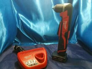 Milwaukee Right Angle Drill 2415 20 M12 12v Li ion 3 8 In Cordless ap1044334