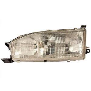 Fits Toyota Camry 1992 1994 Headlight Right Side 81110 06011 Car Lamp Auto