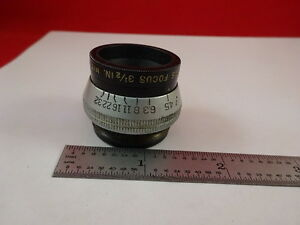 Antique Optical Lens Anastigmat Ilex Paragon 3 1 2 Inches Optics