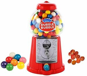 Playo 8 5 Coin Operated Gumball Machine Toy Bank Dubble Bubble Classic Red 45