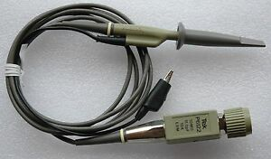 Genuine Tektronix P6122 10x 100mhz Oscilloscope Probe With Ground Lead Hook