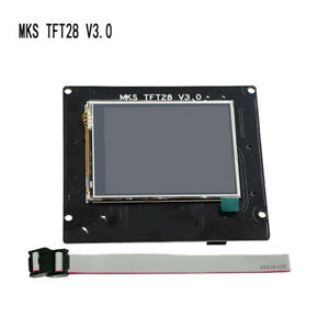 Kit Ramps V1 4 Full Color Mks Tft28 Touch Screen Lcd Controller Board