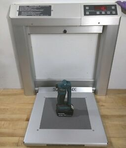 Welch Allyn Scale Tronix 5202 Wall Mount Stow Away Bariatric Stand on Lbs