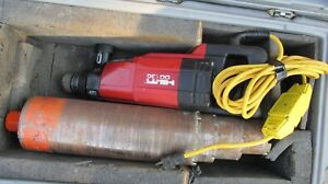 Hilti Dd 130 Core Drill Hand Held Dry wet System 115v ac Kit Combo 745
