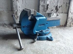 Eron Bench Vise Model 125 With Swivel Rotating Base