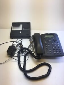 At t 964 Corded 4 Line Analog Phone Expandable W Answering Machine Caller Id