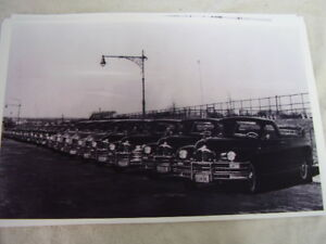 1948 Packard Flower Cars 11 X 17 Photo Picture