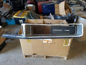 1969 Dodge Charger Grille Center 69 Grill Front Hidden Headlight R t Parts Patch