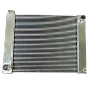2 Row Fabricated Aluminum Radiator Overall Size 25 X 19 X3 For Ford Mopar