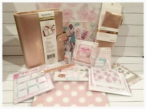 Recollections Rose Gold Personal Planner Complete Gp Kit New