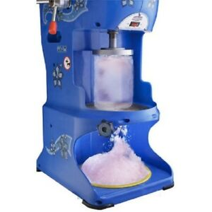 Ice Machine Hawaiian Shaved Crusher Commercial Shaver Snow Cone Icee Snow Maker