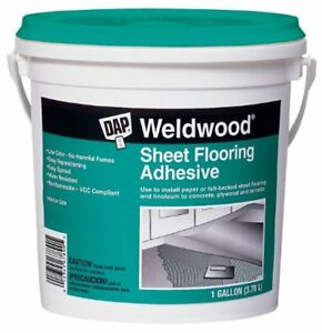 Dap 25178 Weldwood Sheet Flooring Adhesive Gallon