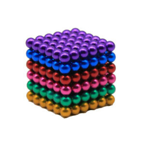 Colorful 3mm 216pc Neodymium Sphere Ball Magic Cube 3d Puzzle Ball Stress Adult