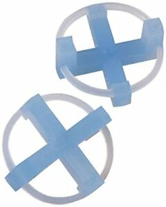 Marshalltown 15545 3 16 inch Tavy Tile Spacer Blue 100 pack