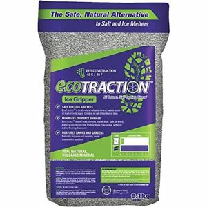 Ecotraction Et9rb All natural Volcanic Mineral Ice Traction Granules 20 pound