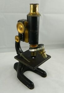 Bausch Lomb Microscope Vintage For Parts Or Repair