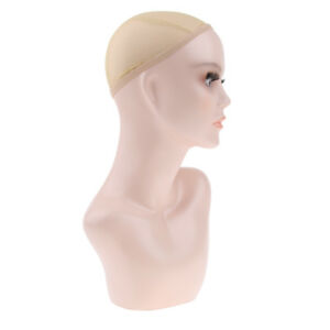 Female Mannequin Head Bust Wigs Hat Jewelry Scarf Display Stand Holder