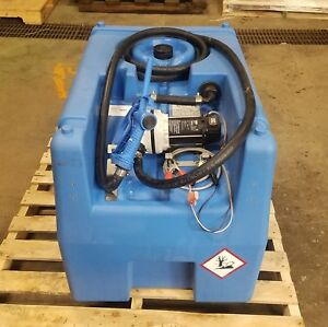 Emiliana Serbatoi Dse 07 12 Mobile Carry Tank Transfer Pump 8695