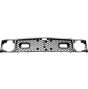 1971 1972 Mustang Mach 1 Grille With Trim Molding Dynacorn New M3629j