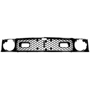 1971 1972 Mustang Mach 1 Grille Without Trim Molding Dynacorn New M3629f