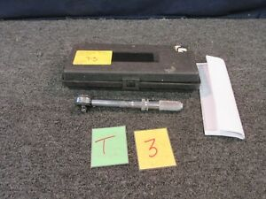 Seekonk Torque Wrench Inch pound In lb Sm 150 3 8 Drive Military Tool Used