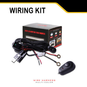 Led Light Bar Wiring Harness Autofeel Wiring Harness For Dual Color Led Work Lig
