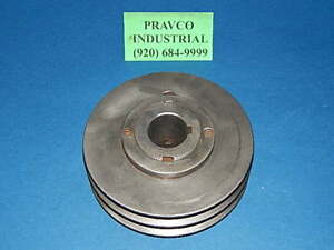 Double Groove Variable Speed Pulley Sheave 7 1 8 7 125 Od