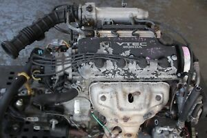 Jdm 92 95 Honda Civic Del Sol D15b Sohc Vtec With Lsd Manual Trans Obd1 Vtec Lsd